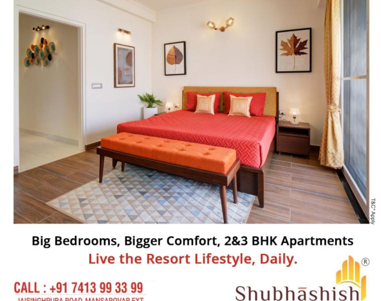 Luxurious apartment in Jaipur