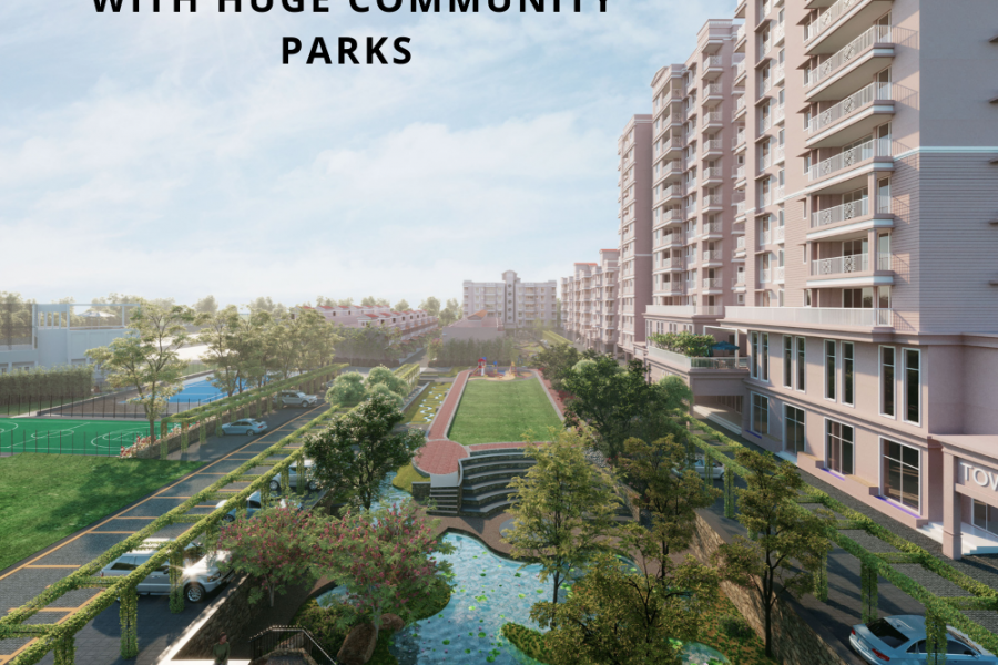 4 Reasons People Love Residential Apartments with Huge Community Parks